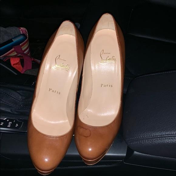 705cd65de0d Christian Louboutin Shoes - Brown Christian Louboutins ❤️
